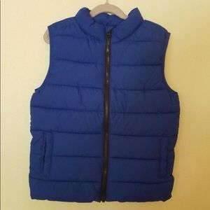 Gymboree Rising Stars Puffy Vest Blue only